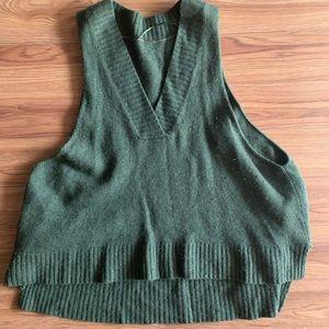 Free people oversized knit vest-like sweater